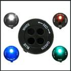 Gerber Recon Flashlight - White / Red / Blue / Green LED - Black Body