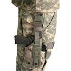Blackhawk! Nylon Ωmega VI Ultra Universal Modular Light Holster - Ambidextrous