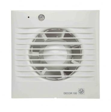 Wc ventilator met terugslagklep