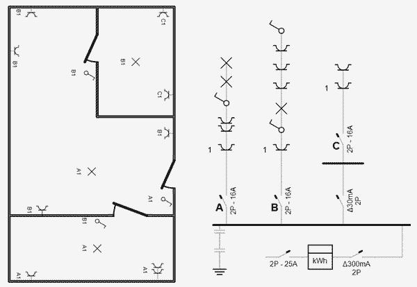 aardlek symbool  u2013 aansluiten meterkast schema