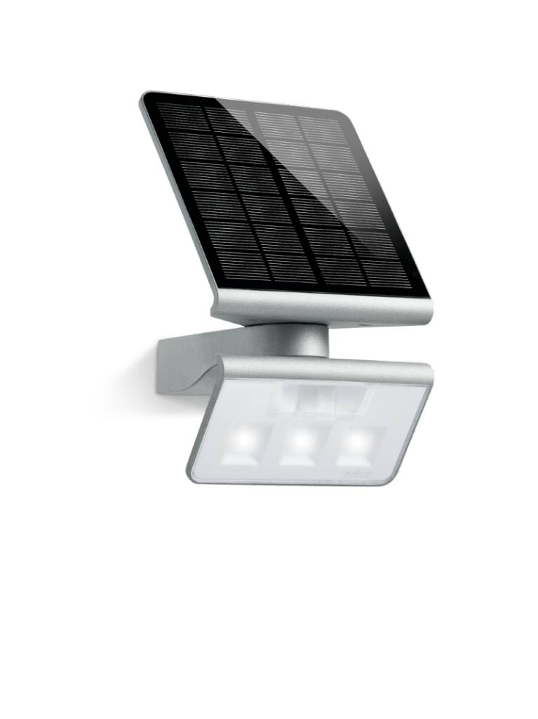 steinel sensor led light xsolar l s zilver. Black Bedroom Furniture Sets. Home Design Ideas