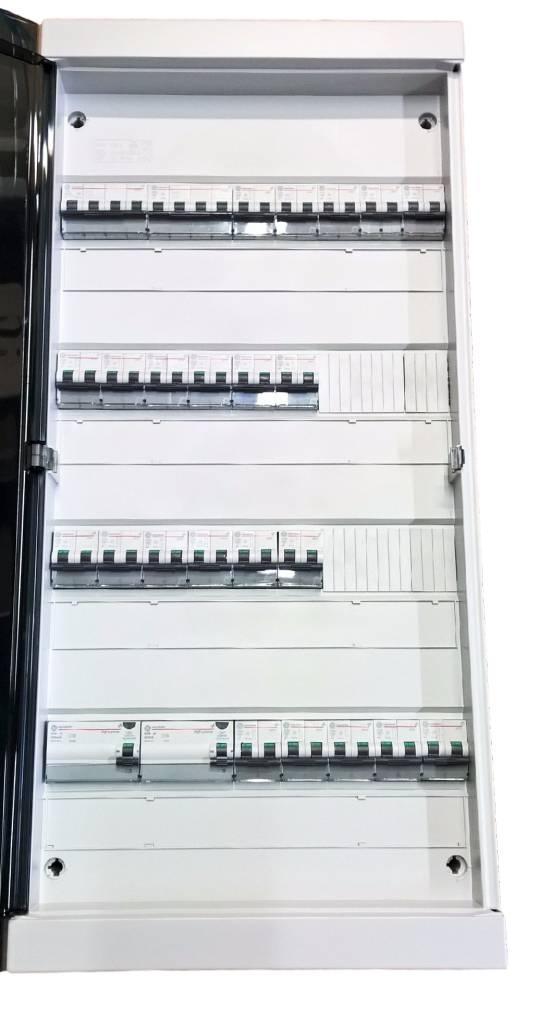 Zekeringkasten vanaf 72 module