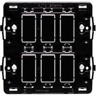 Bticino Houder 2x3 modules Magic serie (schroefbevestiging!)