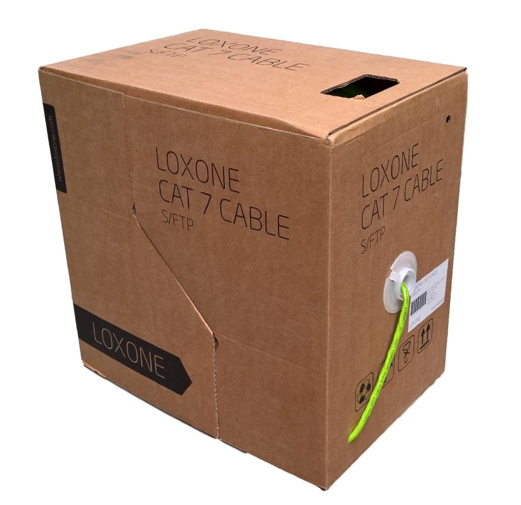 loxone cat7 s ftp 1000mhz ethernet kabel box 250m de webshop voor domotica en. Black Bedroom Furniture Sets. Home Design Ideas