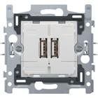 Niko USB lader voor inbouw 420-00500