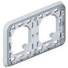 Legrand Plexo Inbouwkader- 2 horizontale mechanismen