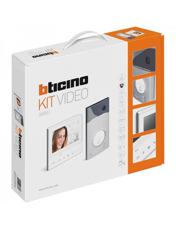 bticino videofoonkit 363511 classe 300 v13e elektrisch materiaal voordelig online. Black Bedroom Furniture Sets. Home Design Ideas