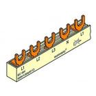 FTG Kamgeleider vork 4P ->2P 18modØ10 L1L2L2N-L1N-L2N-L3N-L1N.....