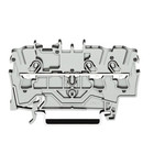 wago rijgklem 3 verbindingen, 0.25 - 4mm, grijs