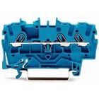 wago 3-draads rijgklem voor Ex e-toepassingen geschikt Blauw