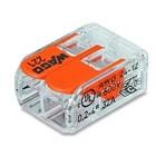 wago Verbindingsklem Compact 2 x 0.2-4mm 100 stuks