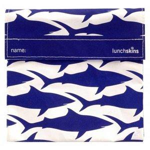 Lunchskins Blauwe Haai: het milieuvriendelijke en herbruikbare boterhamzakje.