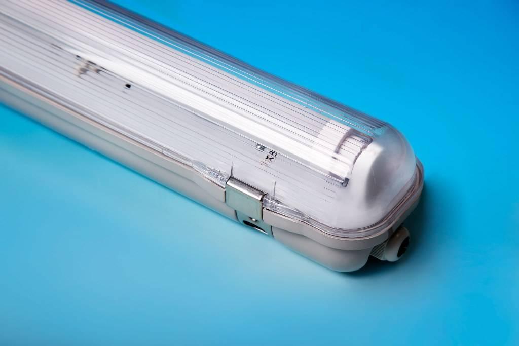 agrilight led tl armatuur 1 x 18 watt inkl buis 2800k dimbaar