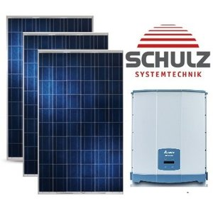 CSUN  Complete systemen CSUN275-60 P 275Wp | 24 panelen 6.600 Wp 3 faze