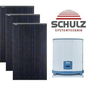Canadian Solar Complete systemen Canadian Solar CS6K-M 295 WP full black | 10 panelen 2.950 Wp - Delta