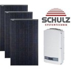 Canadian Solar Complete systemen Canadian Solar CS6K-M 275 WP full black | 8 panelen 2.200 Wp - Solar Edge
