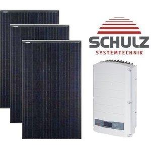 Canadian Solar Complete systemen Canadian Solar CS6K-M 295 WP full black | 14 panelen 4.130 Wp - Solar Edge