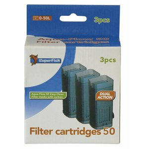 Superfish Aqua-Flow 50 Filter cartridges