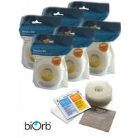 biOrb Service Kit-Clamshell filter x6