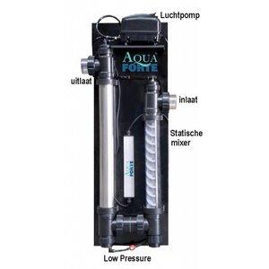 Aquaforte Eindkap Ozon lamp met 1x 90 luchtfitting