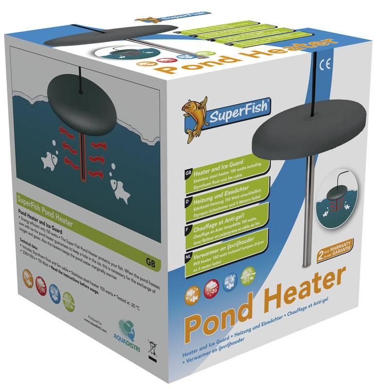 Superfish pond heater ijsvrijhouder for Garden pond heater