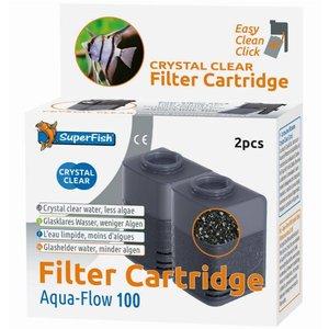 Superfish Aqua-Flow 100 Crystal Clear cartridges