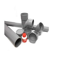 Afvoer PVC Lijmverbinding