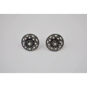 Oorstekers goese knop, 14 mm