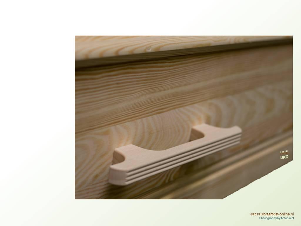 Algemene UKO producten Losse houten handgrepen, recht model 6 of 8 stuks