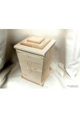 Algemene UKO producten TRADITIONAL eco-urn van massief grenen