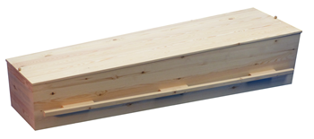 Allure grenen houten grafkist