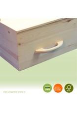 """Algemene UKO producten Losse houten handgrepen, gebogen model """"Classic"""" 6 of 8 stuks"""