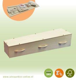 DHZ Bouwpakket DHZ-POPLAR grafkist incl. hout