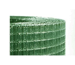 Aviary Mesh-Grün plastifiziert