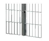 ☐ Rohr 60 x 40 | gewürfelte Kombination beschichteten Metalldeckleiste