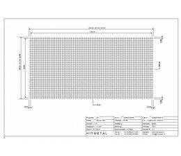 Draaddiameter 3.0, Afmeting 2000 x 1000 mm