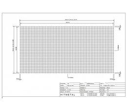Draaddiameter 3.0, Afmeting 3000 x 1500 mm