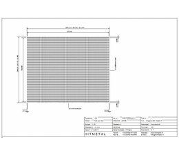 Draaddiameter 3,4, Afmeting 2500 x 2000 mm