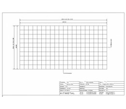 Draaddiameter 3,0, Afmeting 2000 x 1000 mm