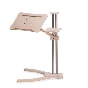 Lounge-Wood Laptoptafel Tablettafel Natural