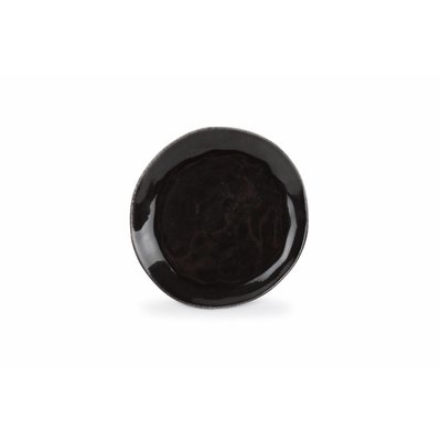 S&P ARTISAN plat bord 20 cm (zwart) 850516 (set/4)