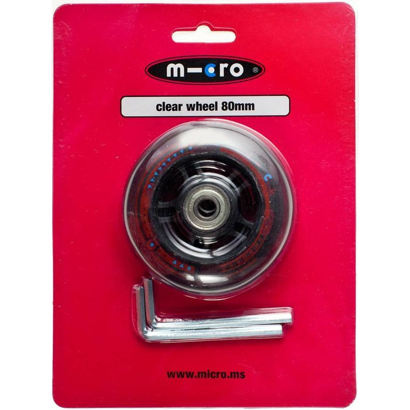 Micro wiel 80mm