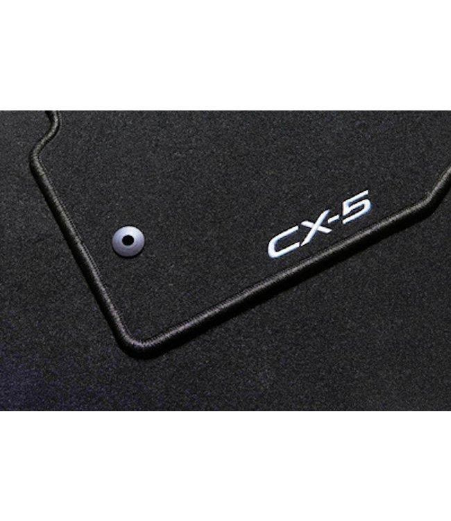 """Mazda CX-5 KE bis 2017 Textilfußmattensatz """"Luxury"""" original"""