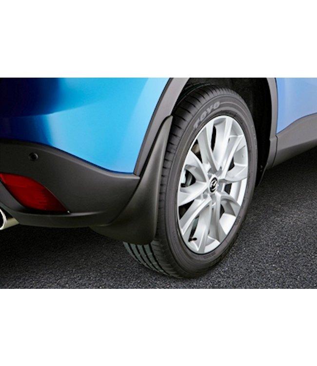 Mazda CX-5 KE bis 2017 Schmutzfängersatz für hinten original