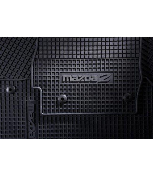 Mazda 2 Gummi-Passfommattensatz ab 06.2007-01/2015