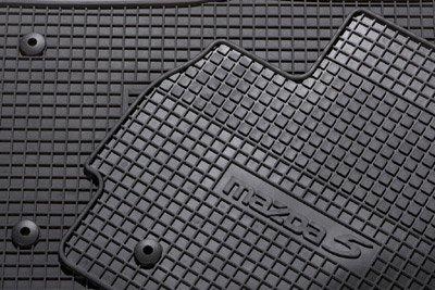 mazda 5 gummi passformmattensatz 7 sitzer 6 teilig. Black Bedroom Furniture Sets. Home Design Ideas