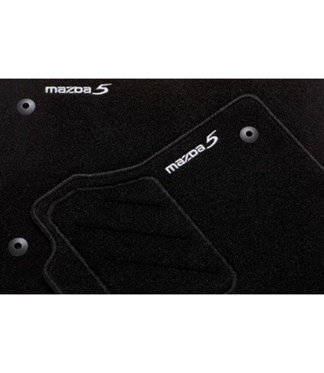 """Mazda 5 Textilfußmattensatz """"Standard"""" 4-teilig"""