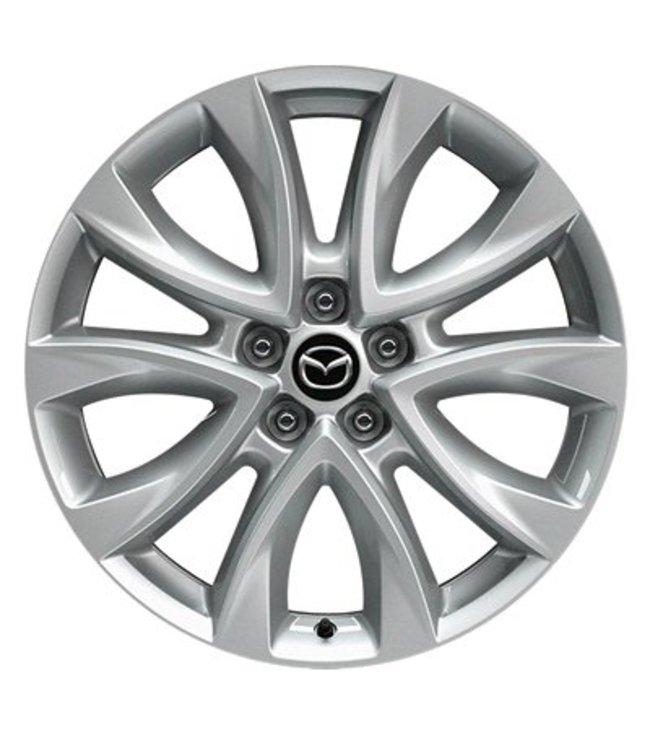 Mazda CX-5 KE bis 2017 Leichtmetallfelge 7J x 19 ohne Nabenkappen 4 Stück Design 147