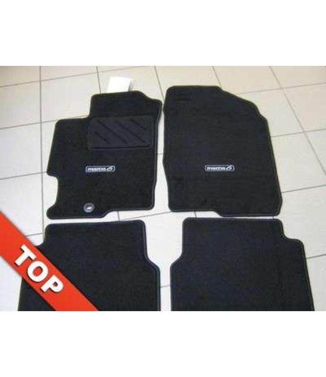 """Mazda 6 Textilfußmattensatz """"Standard"""" original Typ GG + GY + GG1 bis 10.2009"""