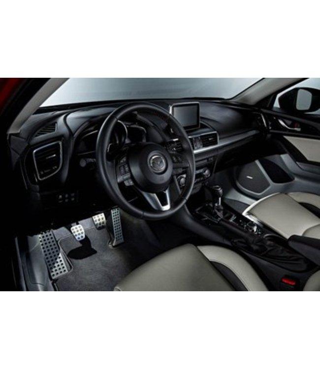 Mazda 3 Begrüßungsbeleuchtung weiß oder rot  Innenraumbeleuchtung original ab 05.2013 Fußraumbeleuchtung